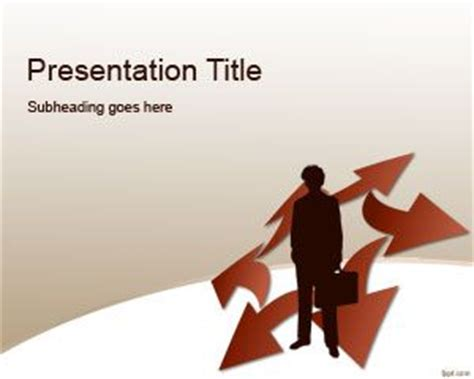 Free Business Plan PowerPoint Template - Free PowerPoint